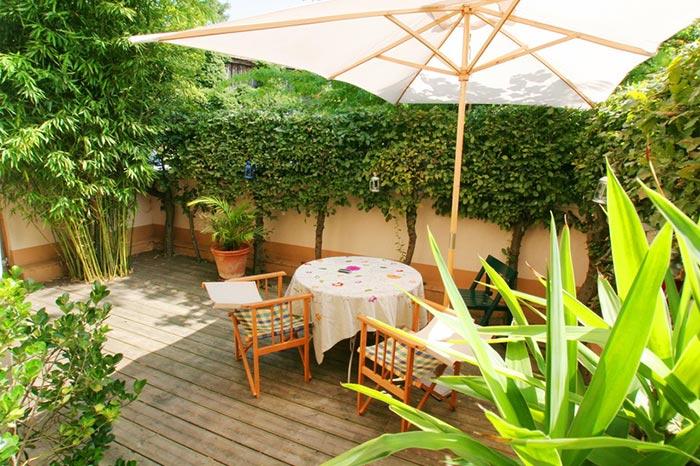 Alexandre paysage paysagiste pommiers rh ne - Comment decorer une terrasse ...